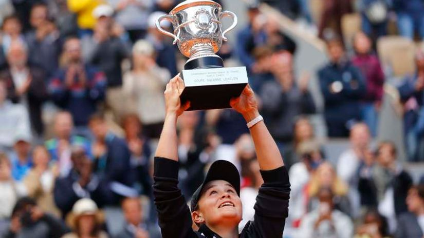 Naslov u Roland Garrosu omalenoj Australki