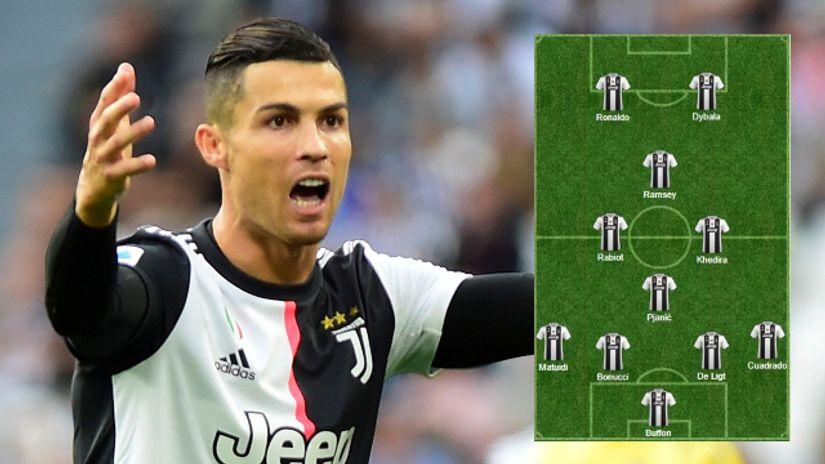 Totalni napad za SPAL: Ronaldo u špici, bekove igraju veznjak i krilo