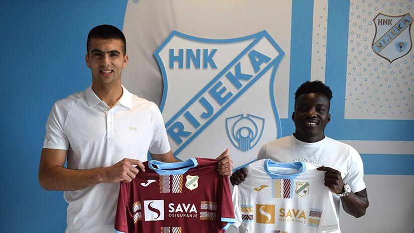 Rijeka predstavila dvojac iz Šibenika: Došli smo u jedan od najboljih hrvatskih klubova